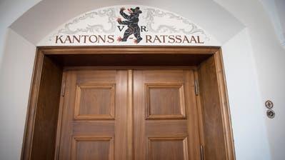 Wer darf rein, wer muss draussen bleiben? Der Kantonsratssaal in Herisau. (Bild: Benjamin Manser)