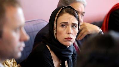 Jacinda Ardern, Premierministerin von Neuseeland, beim Treffen mit der muslimischen Gemeinschaft von Christchurch. (Bild: New Zealand Prime Minister,16. März 2019)