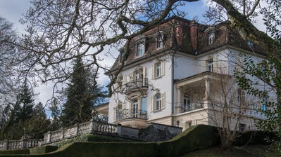 Die Villa Krämerstein im Horwer Ortsteil Kastanienbaum. (Bild: Nadia Schärli, 18. März 2019)