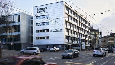 Das LZ-Medienhaus an der Maihofstrasse in Luzern. (Bild: Jakob Ineichen)