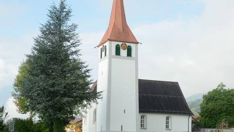 Das Feuchtigkeitsproblem in der Kirche Sax soll mit einer gründlichen Sanierung behoben werden. (Bild: Hansruedi Rohrer)