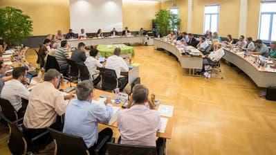 Ein Blick in eine Sitzung im Kreuzlinger Rathaus. (Bild: Reto Martin - 14. Juni 2018)