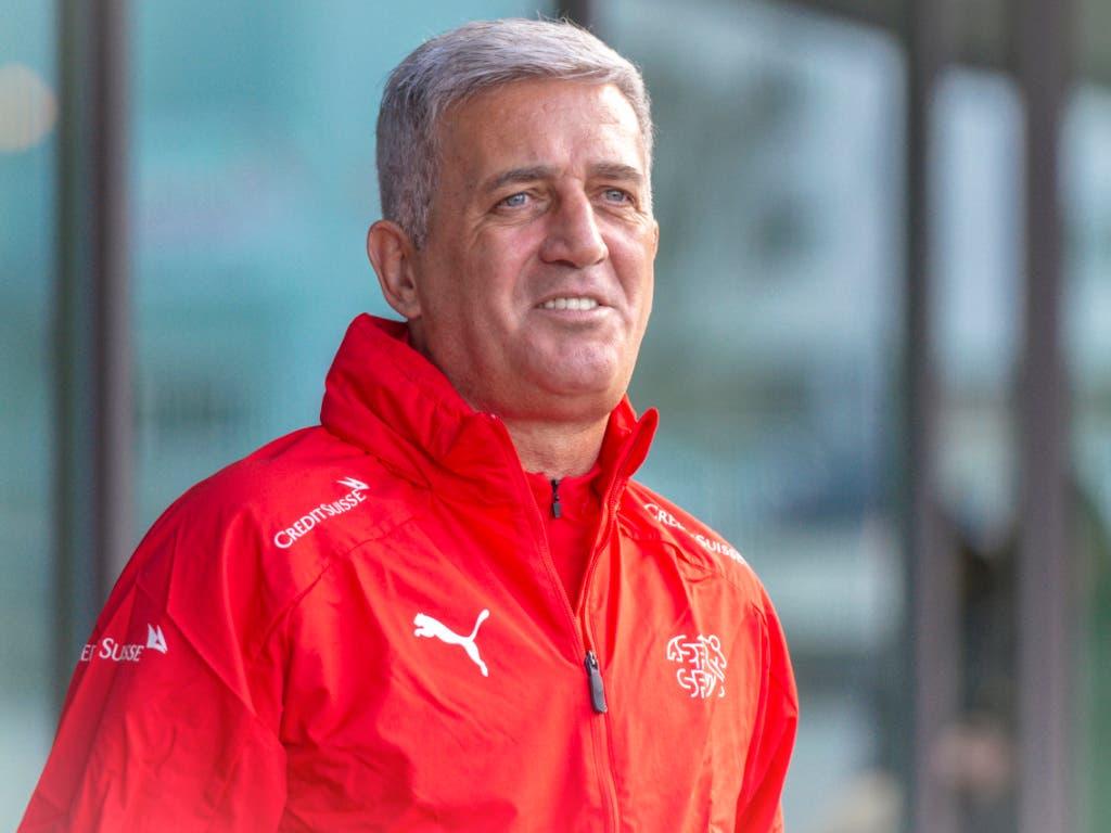 Trainer Vladimir Petkovic hat die Schweizer Nationalmannschaft taktisch unberechenbarer und flexibel gemacht (Bild: KEYSTONE/MELANIE DUCHENE)