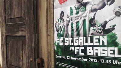 Weshalb der FC St.Gallen keine Matchplakate mehr aufhängt
