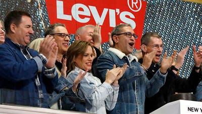 Levi's feiert fulminante Börsenrückkehr in New York