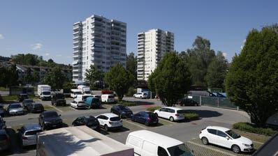 Das Gelände beim Zythusareal soll überbaut werden. (Bild: Stefan Kaiser, 8. Mai 2018)