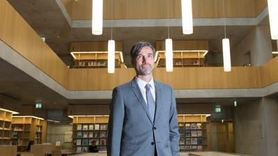 Rektor Sebastian Wörwaghat seinen Weggang von der Fachhochschule St.Gallen angekündigt. (Archivbild: Ralph Ribi)