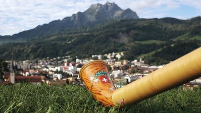 Auch Alphörner werden am63. Zentralschweizer Jodlerfest in Horw vertreten sein. (Bild: PD)