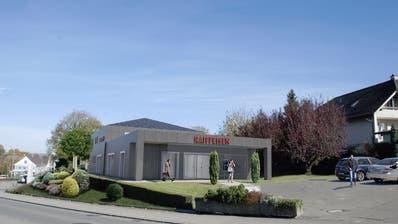 Der Umbau der Raiffeisenbank in Tobel soll im kommenden August abgeschlossen sein. (Bild: PD/Raiffeisenbank Münchwilen-Tobel)
