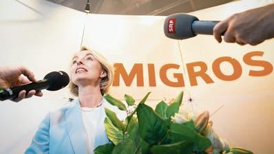 Schwierige Aufgabe für die neue Migros-Präsidentin Ursula Nold