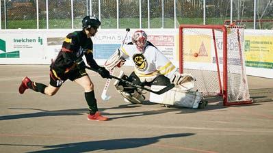 Die Rebells zeigen zum Playoffstart Einbahnhockey