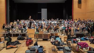 Musikalisches Mammut-Projekt in Gossau: 170 Musiker auf einer Bühne