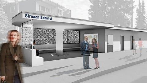 Ende 2019 sollen die Bauarbeiten beim Sirnacher Bahnhofplatz abgeschlossen sein