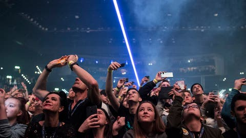 Der Konzerttempel in der Stadt Zürich: das Hallenstadion. (Bild: Keystone)