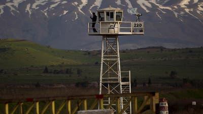 Syrien fordert Uno-Dringlichkeitssitzung zu Golan-Höhen