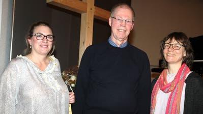 Annette Wüst und Beat Diener sind neu in der Kirchenvorsteherschaft, Esther Eugster ist neues Mitglied der Synode (von links). (Bild: Phillipp Stutz)