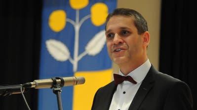 Pascal Blöchlinger, Präsident SVP Uri, will in den Nationalrat. (Bild: Urs Hanhart, Schattdorf, 7. Dezember 2018)