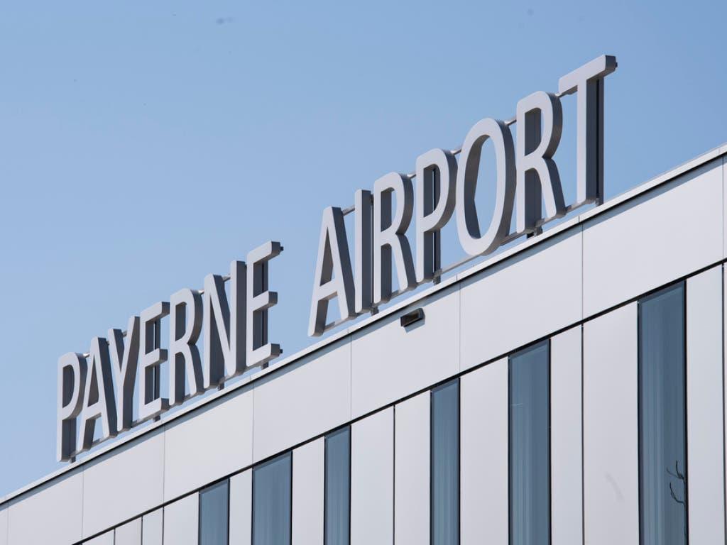 Der «Payerne Airport» verfügt laut den Promotoren viele Vorteile. Die Region erhofft sich durch den Neubau einen wirtschaftlichen Aufschwung. (Bild: Keystone/ADRIEN PERRITAZ)