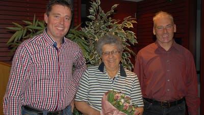 Rita Barth wurde aus dem Vorstand verabschiedet, gewählt wurden Erwin Odermatt und Albert Stäheli. (Bild: Kurt Peter)