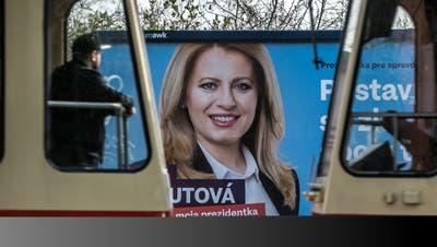 Liberale Bürgeranwältin will erste Präsidentin der Slowakei werden
