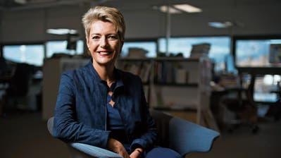 «Ich bin nicht bekannt dafür, hysterisch zu sein»: Justizministerin Karin Keller-Sutter (55). (Benjamin Manser, St. Gallen, 29. März 2019)