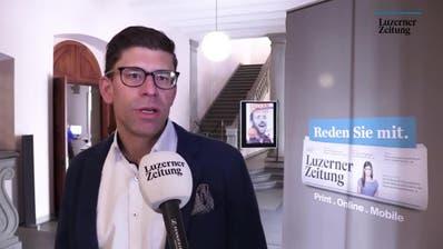 LZ-Chefredaktor Jérôme Martinu: «Die linken Parteien müssen sich auf ein Einerticket einigen»