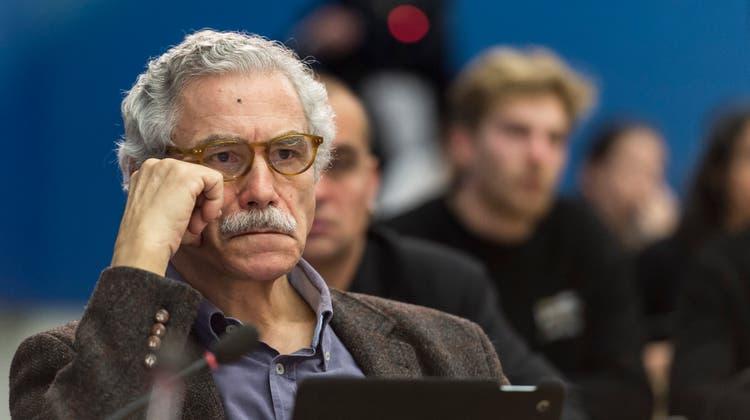 Der 74-jährige Oswald Sigg beklagt die «politische Klimakatastrophe», wenn SP und SVP gemeinsame Sache machen. (Bild: Keystone)