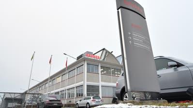 Am Arboner Standort der Saurer-Gruppe wird die Montage der Stickmaschinen nach China verlagert. (Bild: Thurgauer Zeitung)
