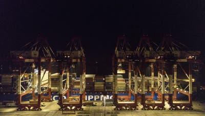 Der Volkskongress in China steht heuer im Zeichen der Handelsbeziehungen mit den USA. (Bild: Qilai Shen/Bloomberg (Schanghai, 30. Januar 2019)