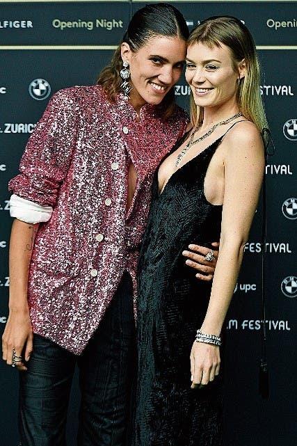 Tamy Glauser und Dominique Rinderknecht, das bekannteste Lesbenpaar der Schweiz. (Bild: KEY)