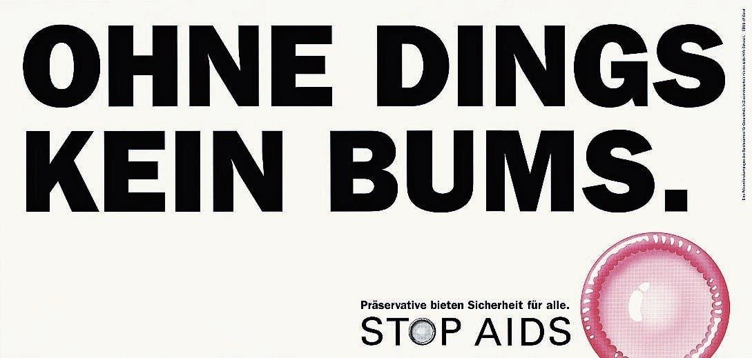 Mit der «Stop Aids»-Kampagne schaffte es der Bund, die gesamte Bevölkerung auf die Infektionskrankheit zu sensibilisieren. Selbst 8-Jährige trällerten: «Im Minimum en Gummi drum». Nun der Wandel: Die Aids-Hilfe Schweiz macht bekannt, dass Infizierte mit den richtigen Medikamenten nicht mehr ansteckend sind (Plakat zuoberst). (Bild: PD)
