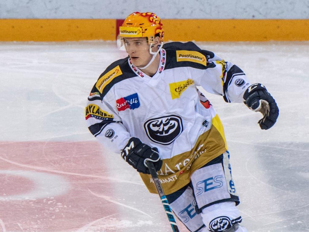 Die Nummer 1 auf Schweizer Eis: Der Qualifikations-Topskorer Dominik Kubalik von Ambri-Piotta (Bild: KEYSTONE/PPR/URS FLUEELER)
