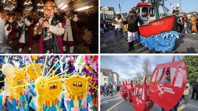 Rüüdig, farbenfroh und einfach genial: Lassen Sie die Luzerner Fasnacht 2019 nochmals Revue passieren