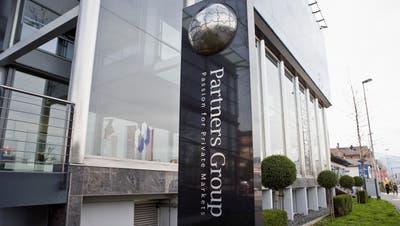 Der Hauptsitz der Partners Group in Baar. (Gaetan Bally/KEYSTONE)
