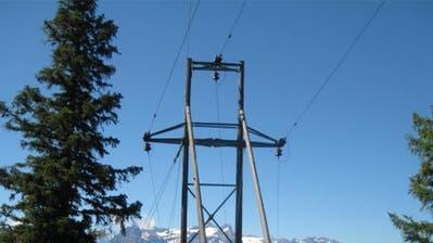 Auf den Eggbergen ist zurzeit die Stromversorgung unterbrochen. (Bild: PD)