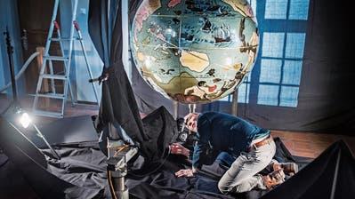 Der weltbekannte St.Galler Globus ist bald in 3D zu sehen