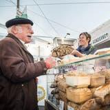Die Schlaraffia erfreut Kunden und Verkäufer gleichermassen (Bild: Andrea Stalder)