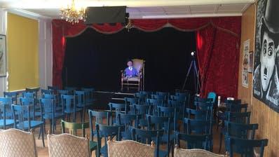 Das Kleintheater «Lachschule Roggwil» hat Platz für 50 Besucher. (Bild: PD)