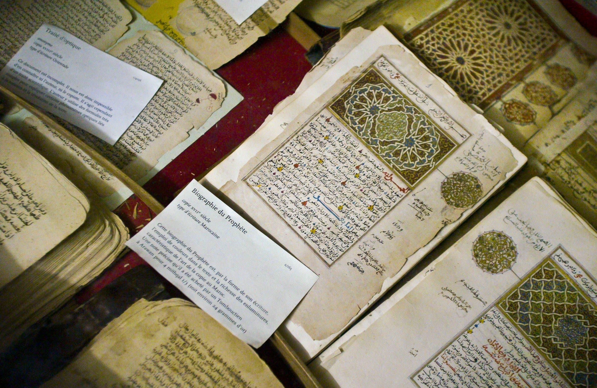 Islamisten griffen im Jahr 2012 die Weltkulturerbestätte Timbuktu in Mali an. Wichtige islamische Schriften konnten zum Glück in Sicherheit gebracht werden. (Bild: AP Photo, Ben Curtis (Timbuktu, 16. März 2004))