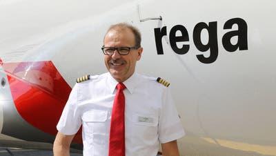 Rega-Chefpilot Urs Nagel. (Bild: PD)