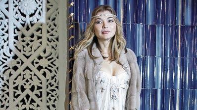 Gulnara Karimowa. (Bild: Yves Forestier/Getty, Taschkent, 24. Oktober 2013)