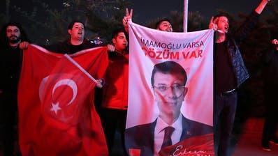 Oppositionskandidat Imamoglu führt bei Kommunalwahl in Istanbul