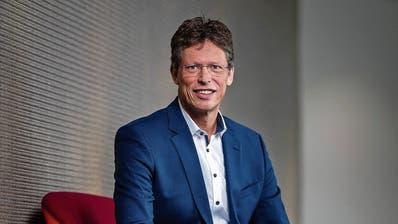 Der neue Siemens-Schweiz-Chef Matthias Rebellius am Firmensitz in Zürich. (Bild: Philipp Schmidli, 19. März 2019)