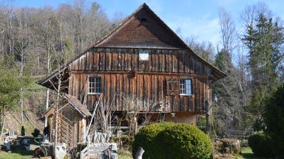 Vor 100 Jahren zogen Wilhelm und Klara Lehmann in die idyllisch gelegene Kobesenmühle bei Niederhelfenschwil. (Bild: Zita Meienhofer)