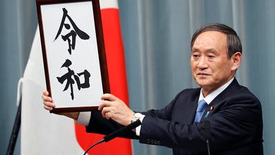 Japans Regierung gibt Ära des künftigen Kaisers den Namen «Reiwa»