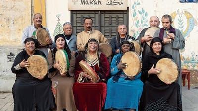 Ägypter am Festival Obwald: Wie Väterchen Zufall grosse Rolle spielte