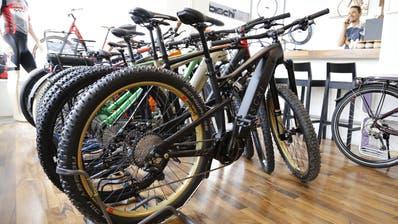 E-Mountainbikes befinden sich im Aufwind. (Bild: Martin Rechsteiner)
