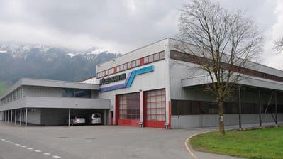 Die Betriebsstätte von Müller Martini in Stans. (Bild: Matthias Piazza, 10. April 2019)