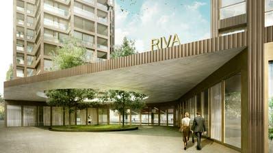 So soll der Eingang zum Gastrobetrieb «Riva» aussehen. (Bild: PD)