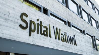 Der neue Bettentrakt des Spitals Wattwil. (Bild: Mareycke Frehner)